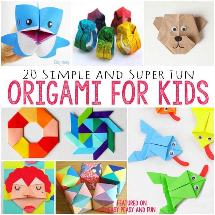 Activités manuelles origami  frhellokidscom